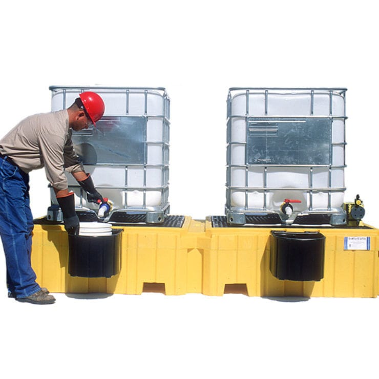 IBC container spill pallet / 1-drum / polyethylene Safe Rack
