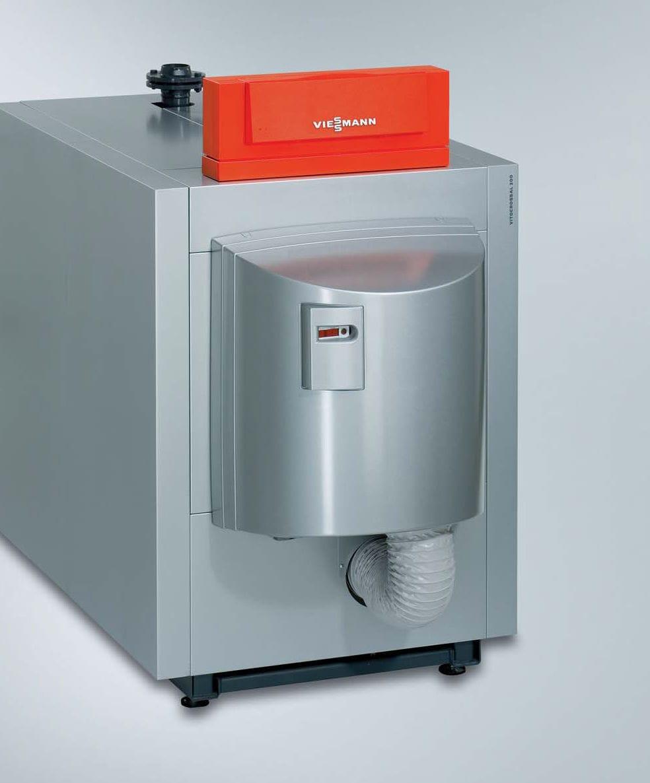 Hot water boiler / gas / condensing - Vitocrossal 300 - Viessmann ...