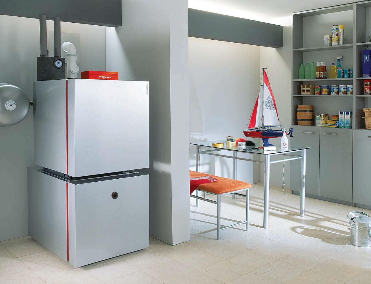 Hot water boiler / fuel oil / condensing - VITOLADENS 300-C ...