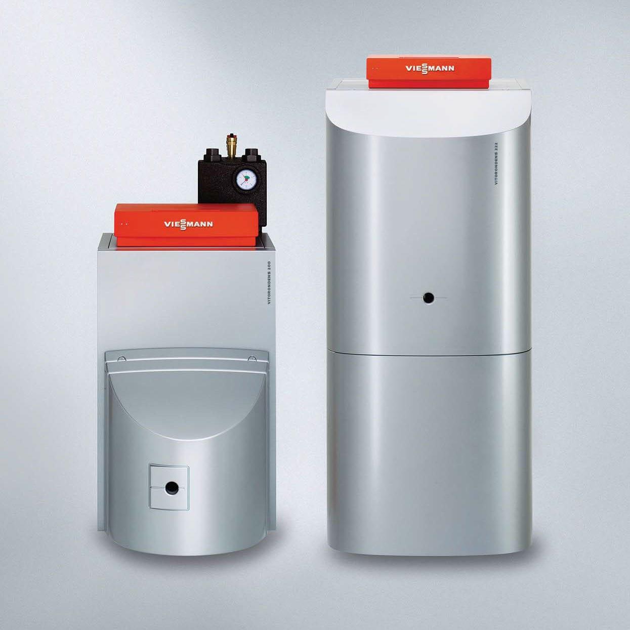Hot water boiler / fuel oil / condensing - VITORONDENS 200-T ...