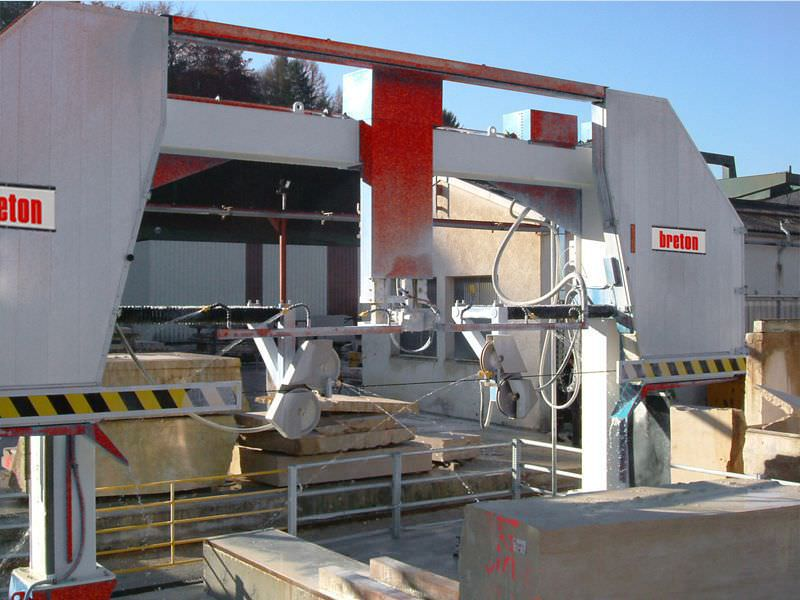 Granite cutting machine / diamond wire / CNC / 2-axis - EASYWIRE 4WD ...