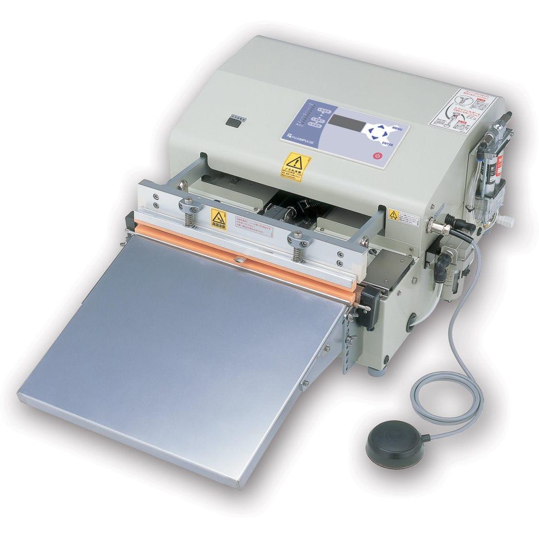 Medical impulse sealer / vacuum / with touchscreen controls