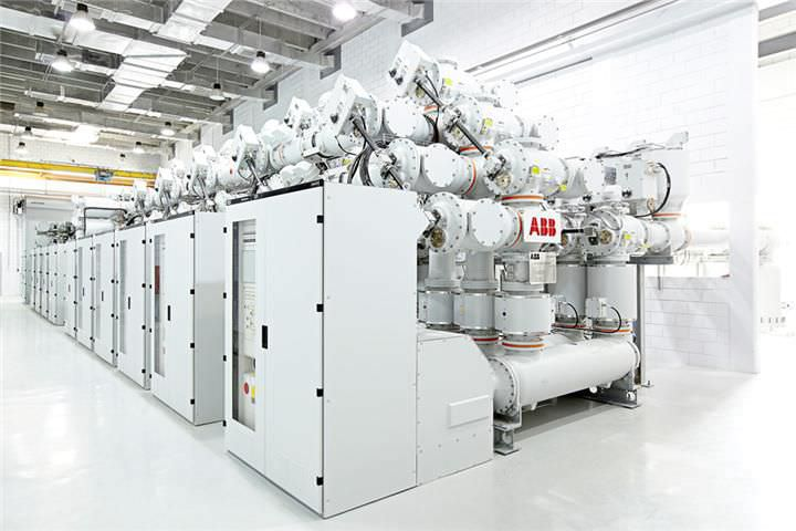 Primary switchgear / high-voltage / gas-insulated / power