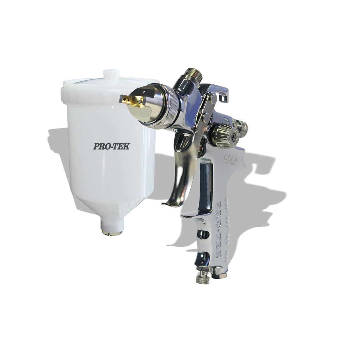 Spray Gun For Paint Pneumatic Gravity Feed Pro Tek 2600 Series