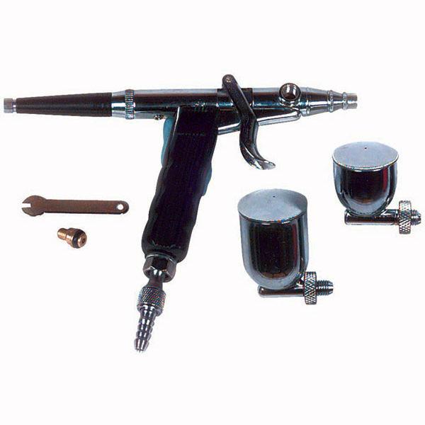 Spray gun / for paint / pneumatic / gravity feed - 7330