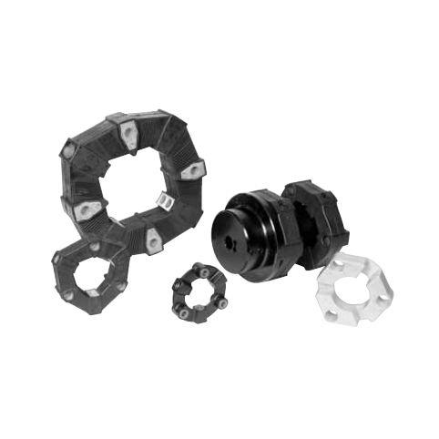 Torsionally rigid coupling / for shafts / rubber / flywheel - LF