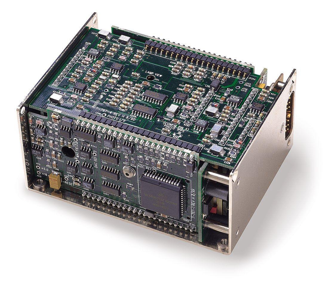 Crystal Oscillator Electronic With Connector Rubidium Circuit