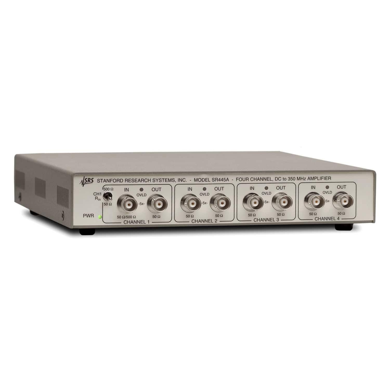Signal Amplifier Low Noise Wide Band Rack Mount Sr445a 2 Preamplifier