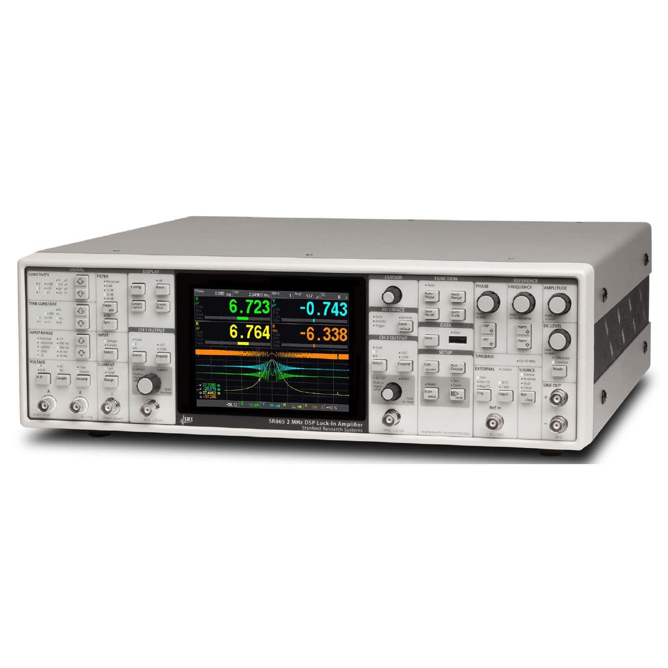 Current Amplifier Voltage Lock In Benchtop Sr865a Stanford Lockin Amplifierj