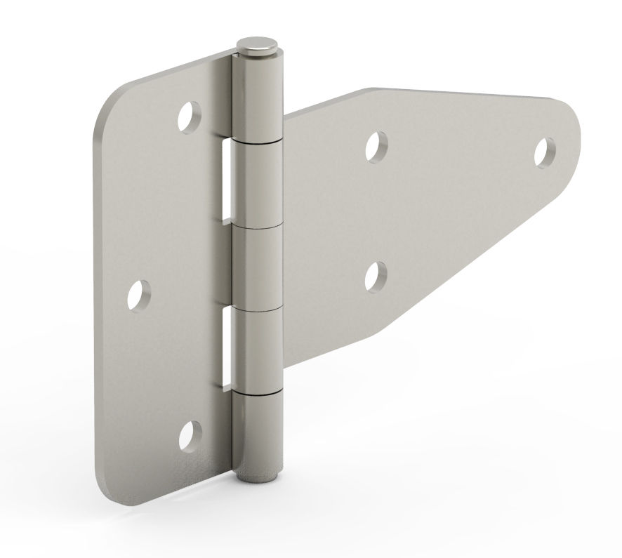 Delicieux Stainless Steel Hinge / Screw In / 180° / Surface Mounted ...