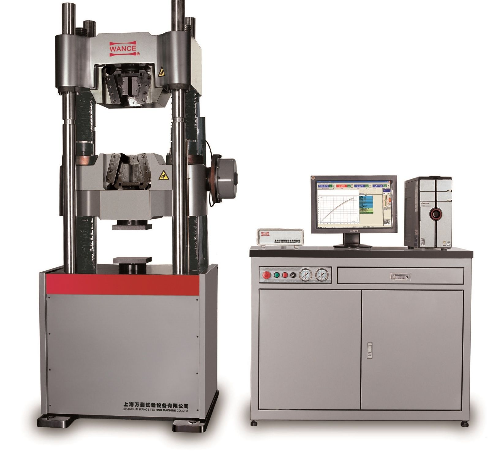Universal testing machine / multi-parameter / hydraulic - 300 ...