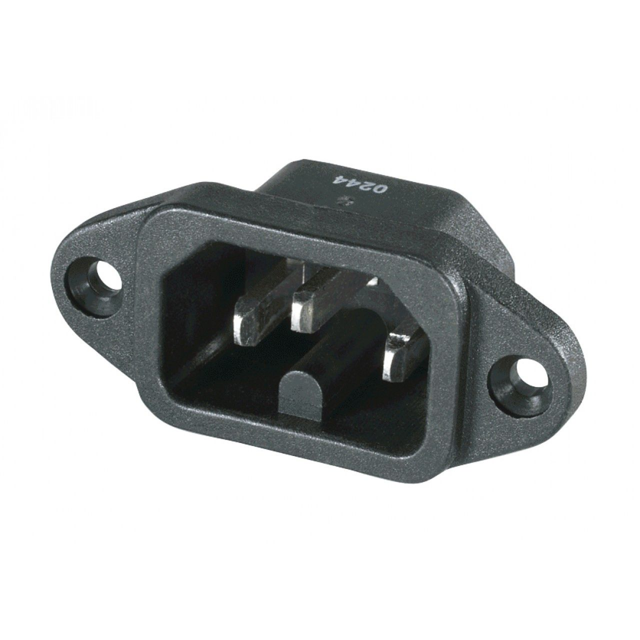 Electrical Power Supply Connector Hexagonal Male Thermoplastic Wiring Ss101 Series