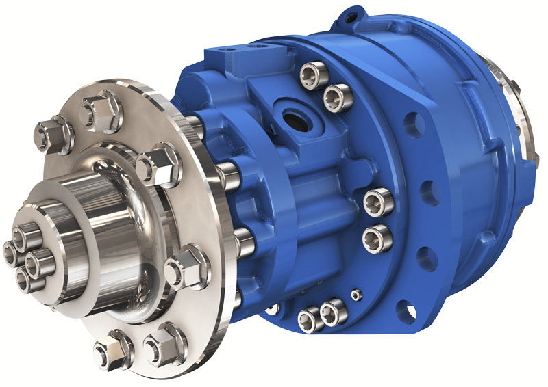Gear hydraulic motor / for construction equipment - MD series ...