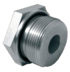 Hexagonal Plug Threaded Metal