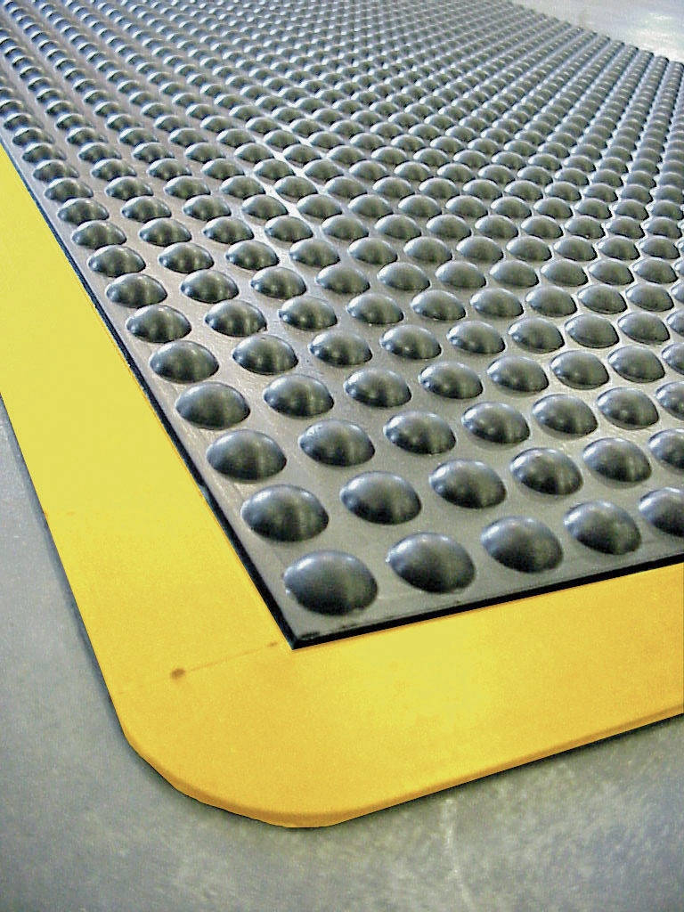 Rubber floor mats for wet areas -  Anti Fatigue Mat Rubber Bubble Wet Area Mby83 Mby83pr Ids