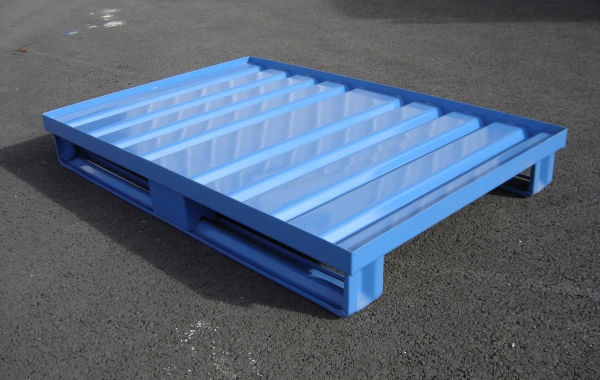 Pallet In Metallo.Storage Pallet Metal Handling Transport Psr Manergo
