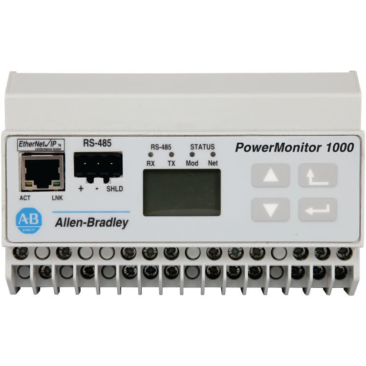 Power factor monitor - PowerMonitor™ 1000 series - ROCKWELL AUTOMATION