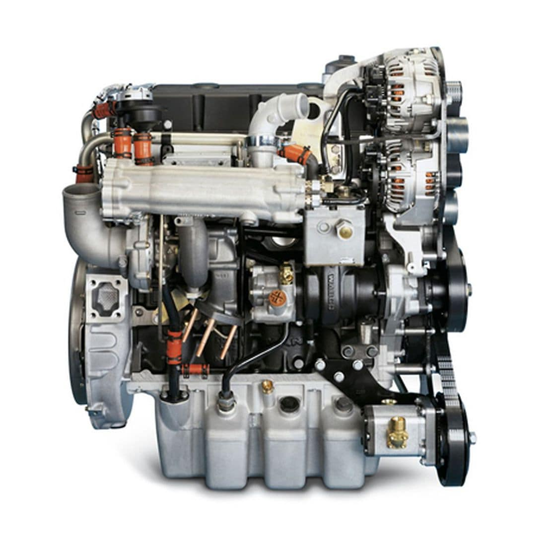 Sel Engine 4 Cylinder Turbocharged In Line D0834 Loh