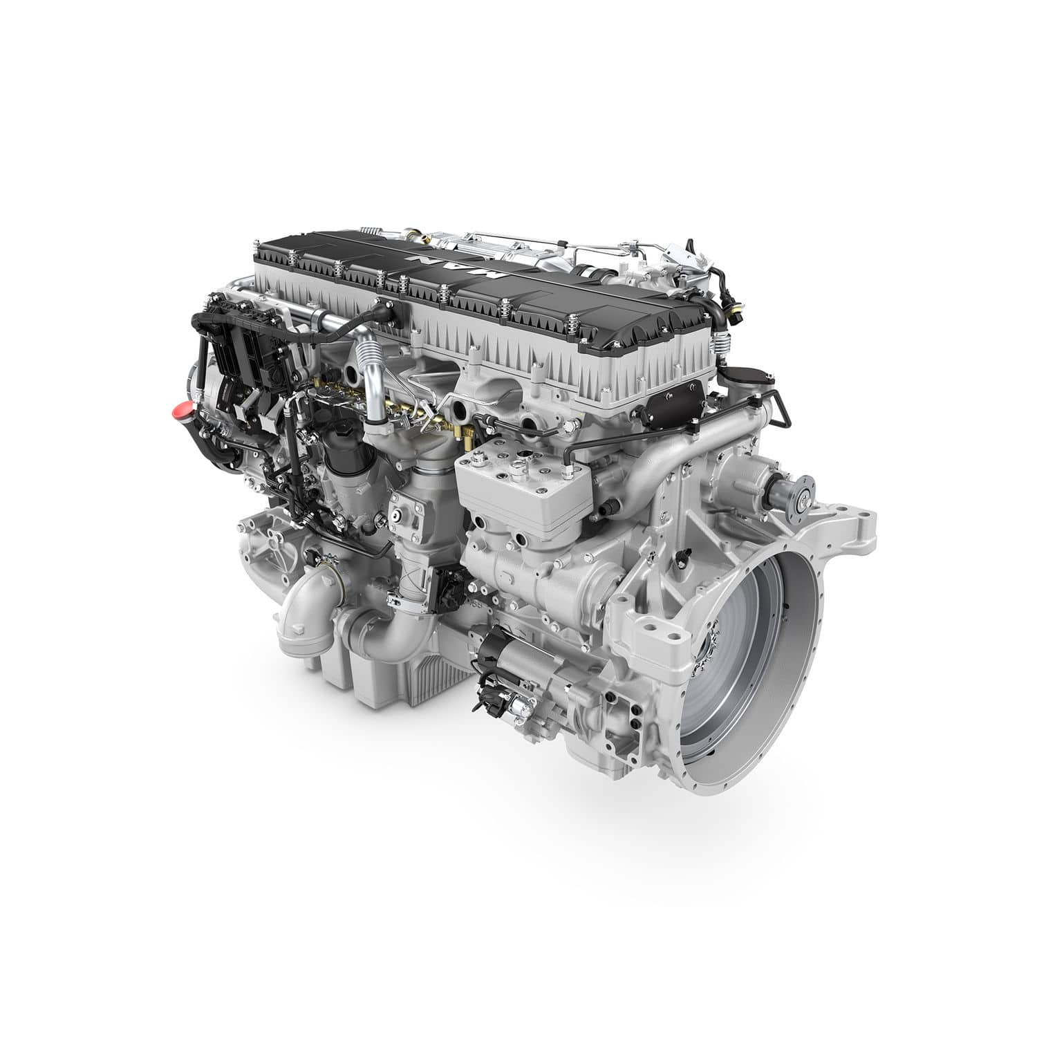 Sel Engine 6 Cylinder Turbocharged Common Rail D3876 Le12x