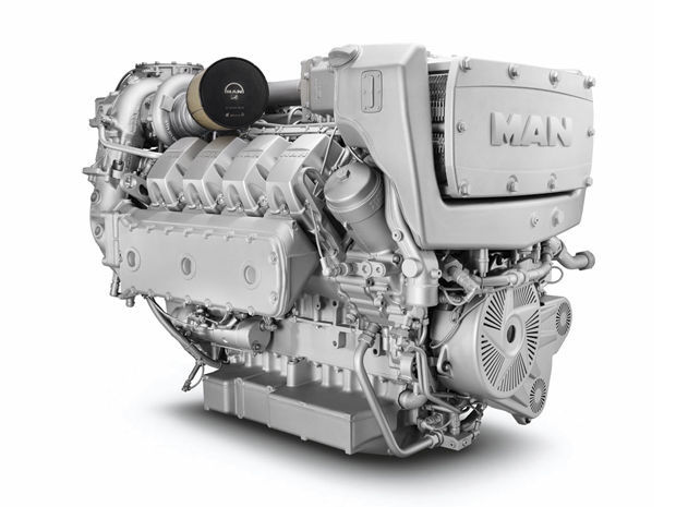 Sel Engine 8 Cylinder Turbocharged For Heavy Duty Applications D2868