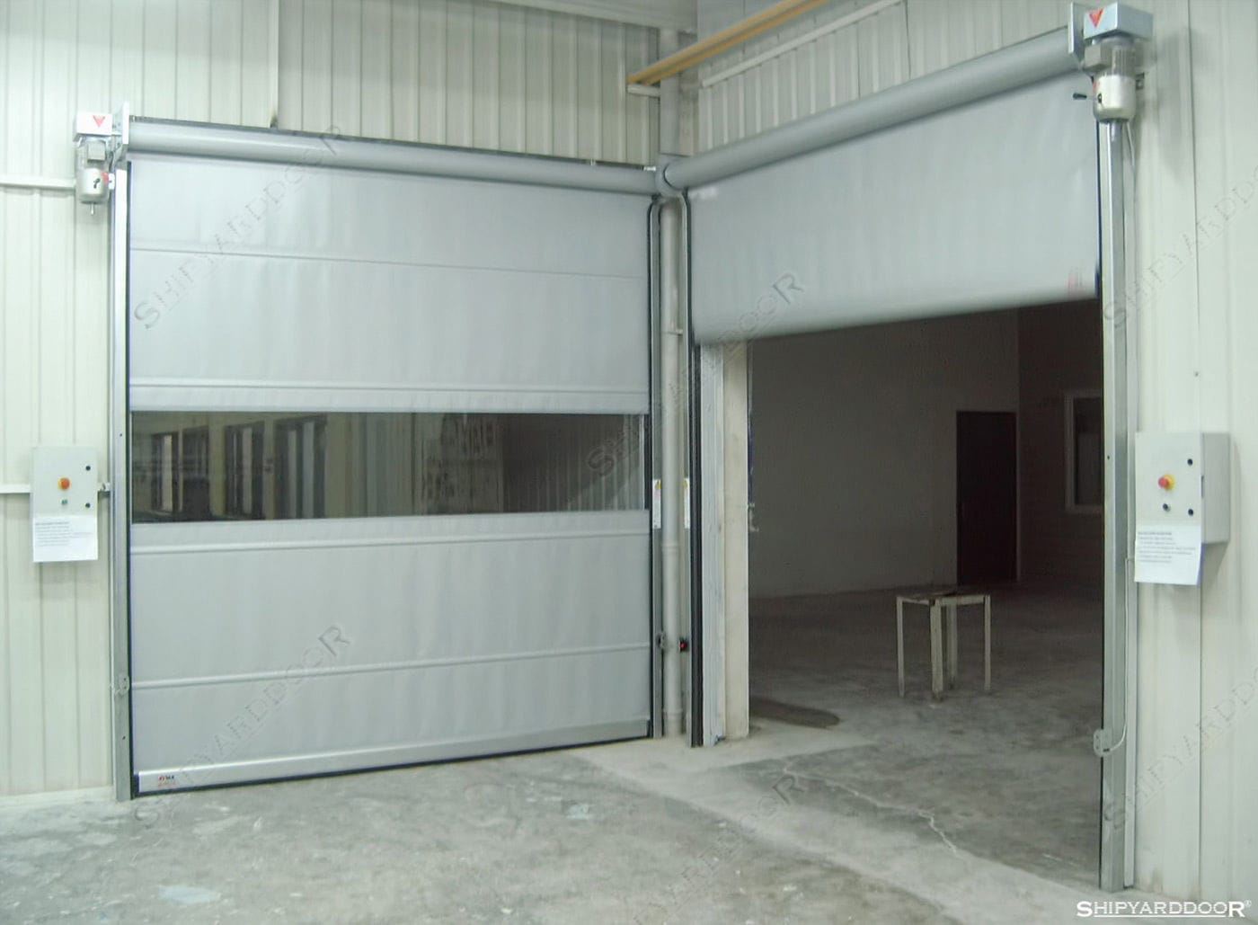 ... roll-up door / fabric / PVC / industrial & Roll-up door / fabric / PVC / industrial - SHIPYARDDOOR (Hangar Door ...