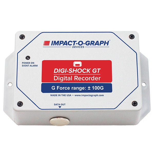 Temperature data-logger / shock / USB / without display Digi-Shock GT IOG  Products, LLC - Impact-O-Graph Devices