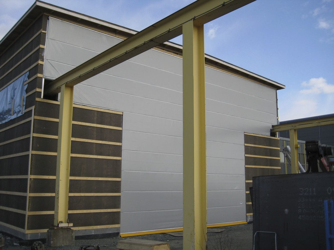 ... Fold-up door / fabric / for overhead cranes / exterior Craneway doors Ch&ion Door ... & Fold-up door / fabric / for overhead cranes / exterior - Craneway ... Pezcame.Com
