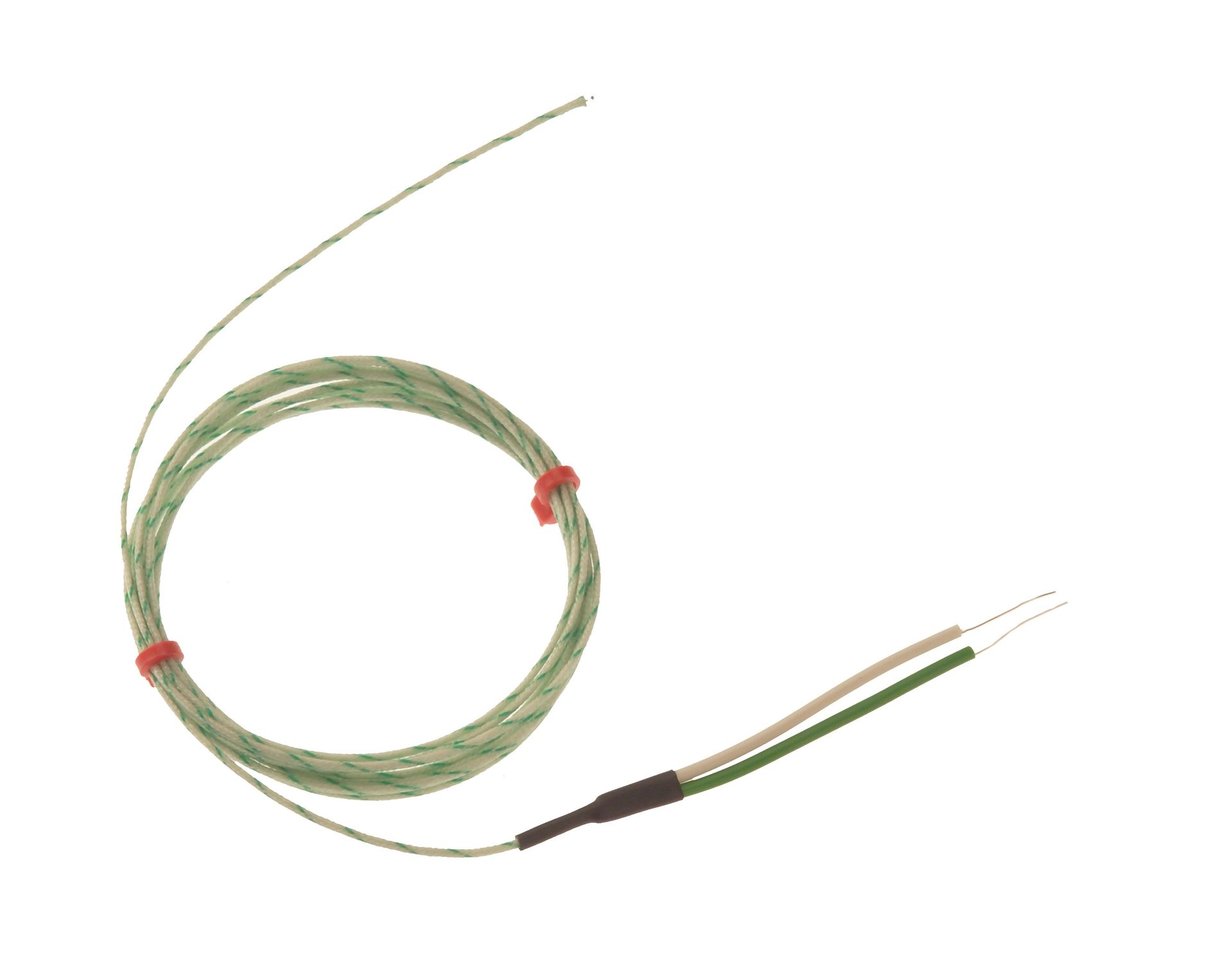 Insulated electrical cable / for thermocouples / fiberglass-sheathed ...