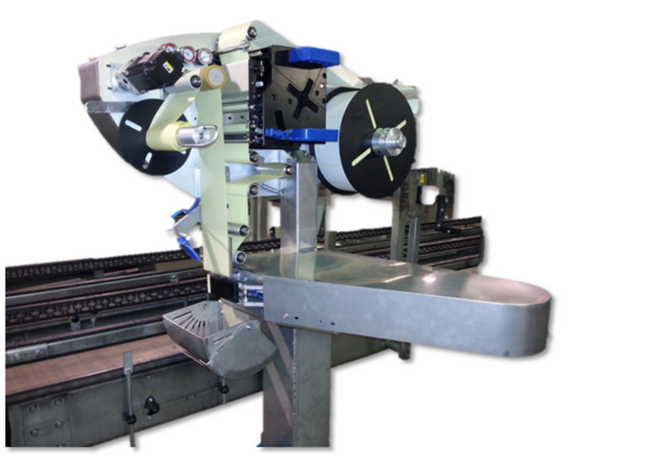 Color printer label - One Color Label Printer Applicator Carton For Labels High Speed Logitron 430
