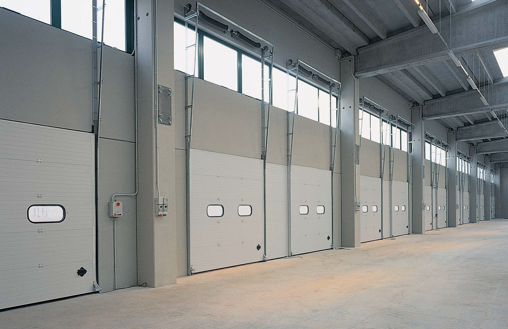 Sectional doors   loading dock   industrial   Dock. Sectional doors   loading dock   industrial   Dock   Breda Sistemi