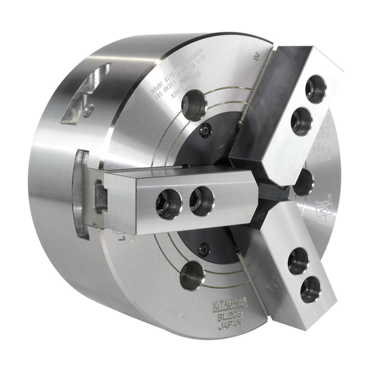 ab5c55e88c7f Power chuck   3-jaw   through-hole   alloy - BL208 - Kitagawa Europe ...