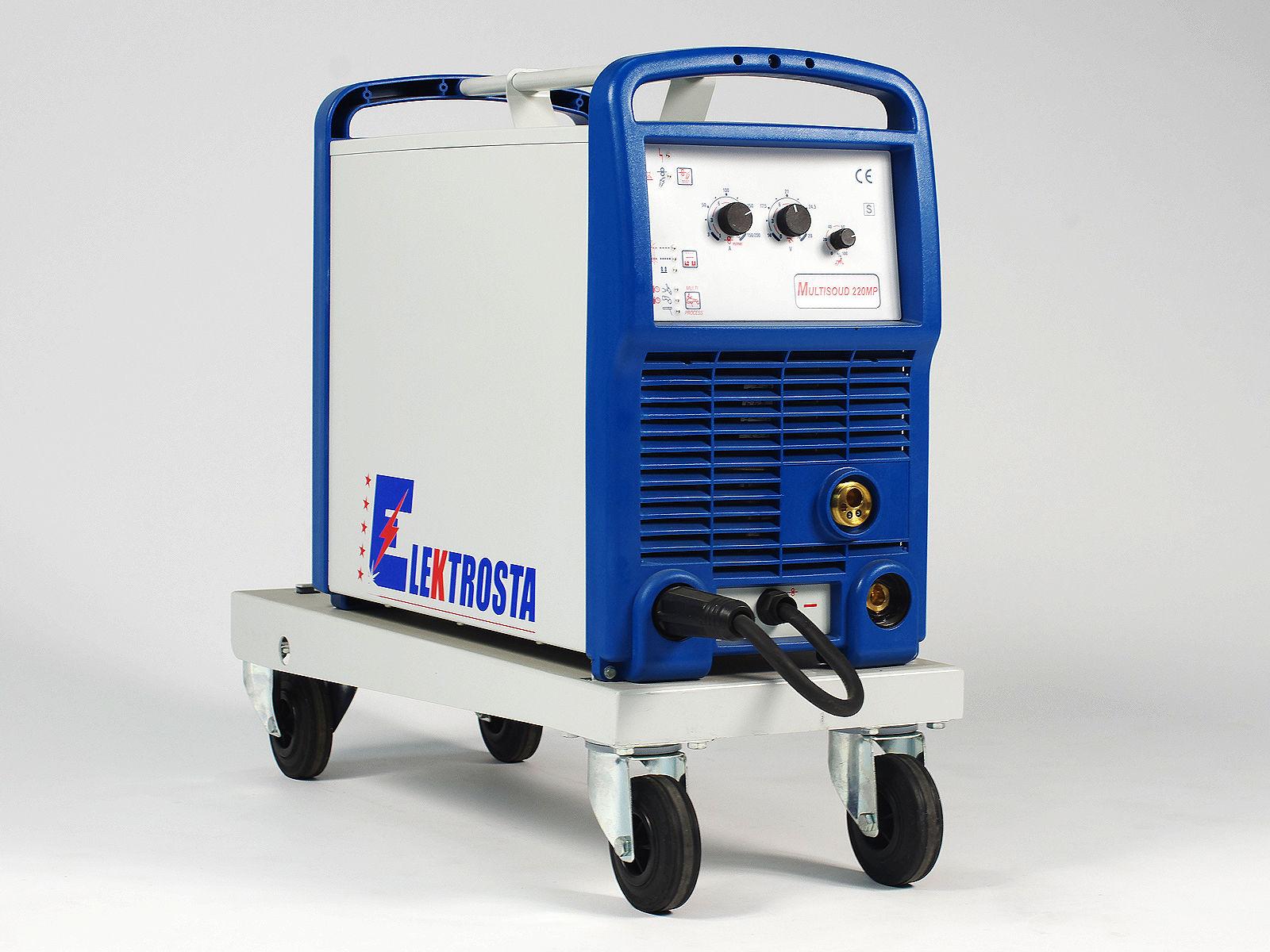 Arc welder / with wire feeder / inverter - max. 220 A   MULTISOUD ...