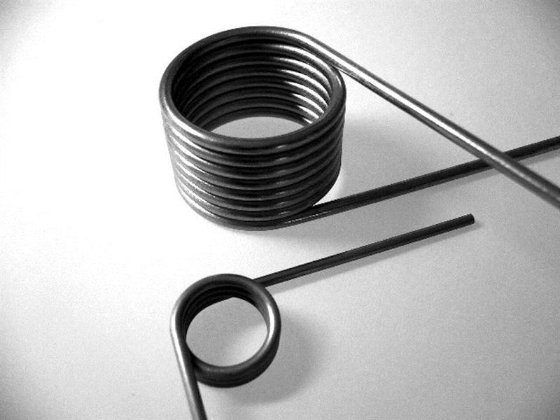 Torsion spring / round-wire / stainless steel / for heavy loads ...