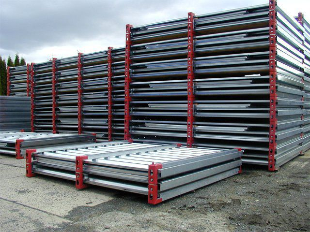 sheet metal storage container ... & Sheet metal storage container - FCA Series - ELKOPLAST CZ s.r.o.