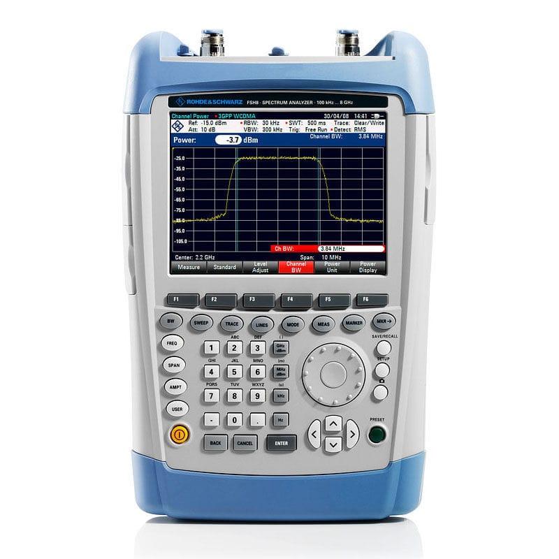 Vector network analyzer / spectrum / portable / rugged R&S®FSH series Rohde  Schwarz