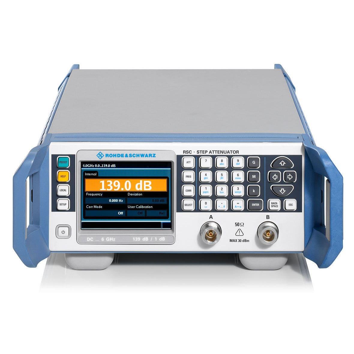 Digital Step Attenuator Variable Rf Rsrsc Series Rohde Schwarz Switch