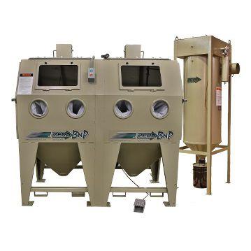 Suction blast cabinet / manual / double - BNP Double 65