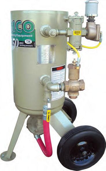 pressure sandblasting machine manual mobile 1642 1648 rh directindustry com Clemco Dealers clemco sandblaster parts