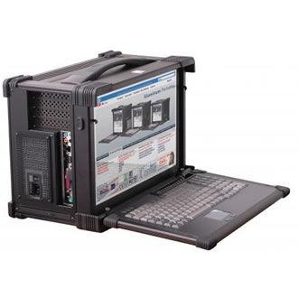 Rugged Portable Computer Workstation Bit Rpc 1734 I7 Server Beltronic
