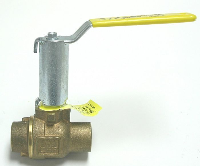 Lever valve / for water / with extended stem / brass - Conbraco ...