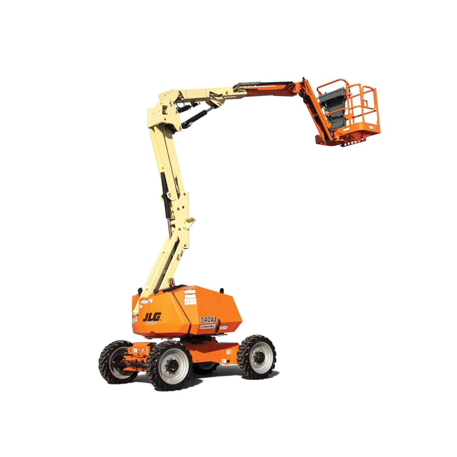 Wheeled Articulated Boom Lift All Terrain For Construction Wiring Diagram Jlg 800aj Outdoor 340aj