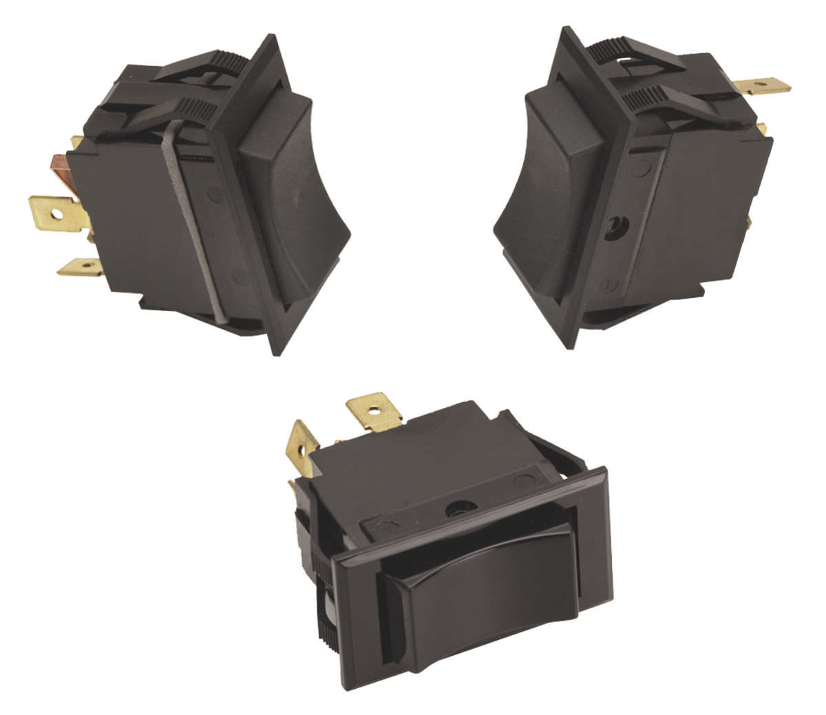 Rocker switch / 3-pole / 4-pole / 2-pole - TI series - Carling ...