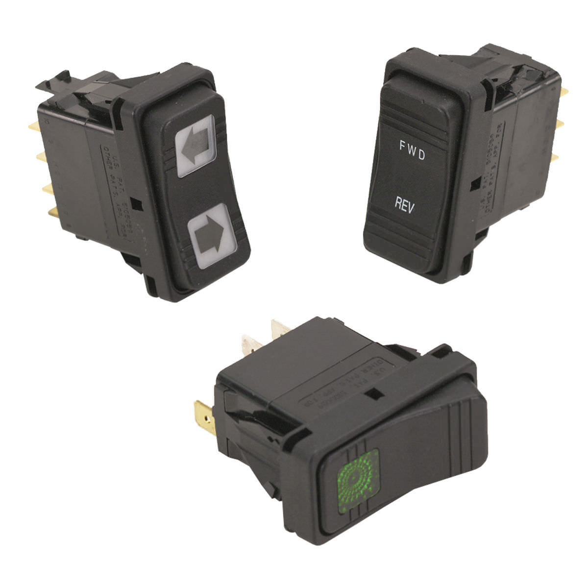 Rocker Switch Single Pole Bipolar Illuminated V Series How To Wire Switches In Parallel Electrical Technology Contura X Xi Xii