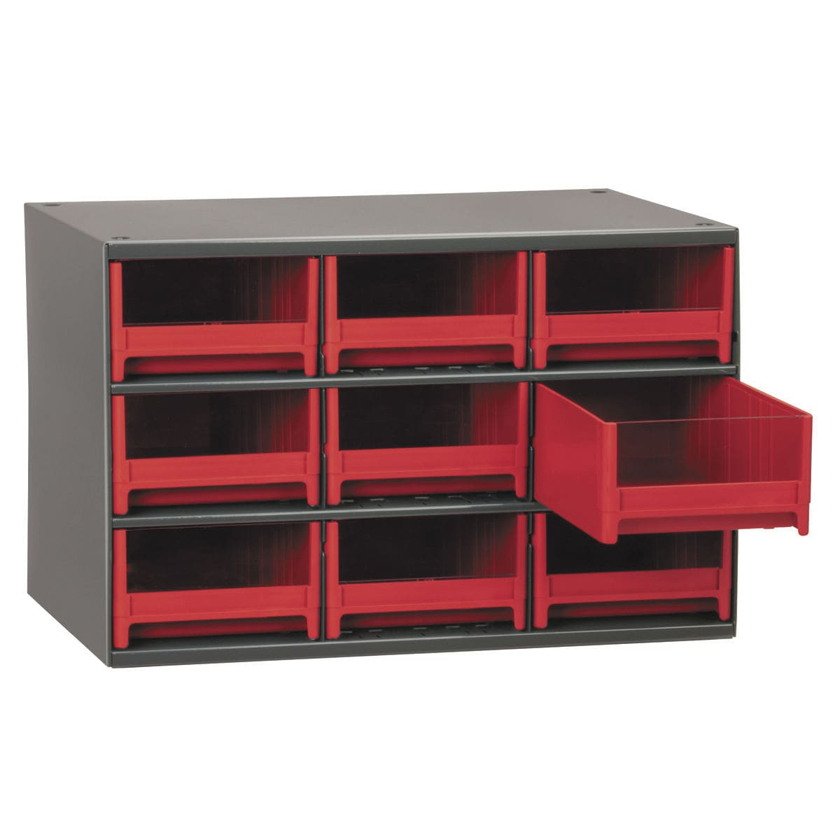 ... Storage Cabinet / Floor Mounted / With Drawer / Steel 19 Series Akro  Mils
