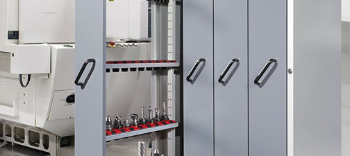 storage cabinet / floor-mounted / with sliding panels / vertical ... & Storage cabinet / floor-mounted / with sliding panels / vertical - LISTA