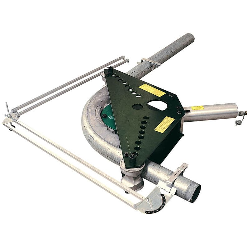 """Greenlee 884 885 hydraulic conduit pipe bender includes 4"""",3. 5"""",3."""