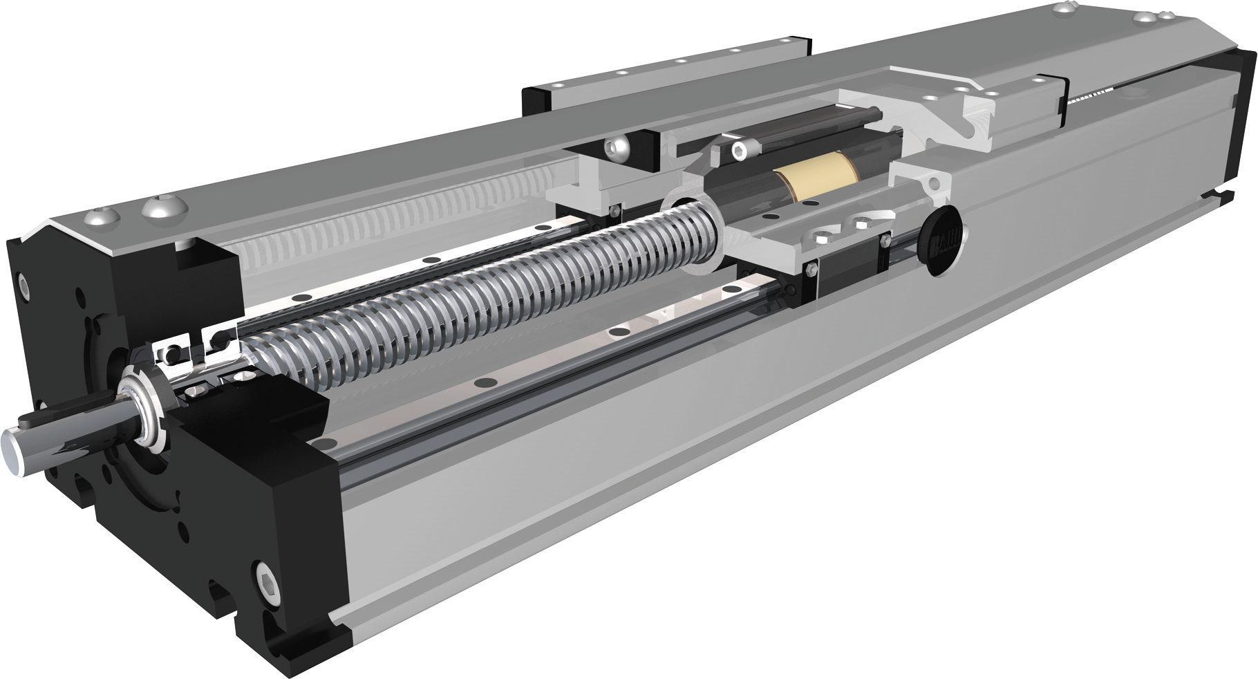 ball screw. electric linear unit / ball screw dst-p, dsk-p bahr modultechnik gmbh n