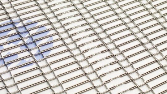 Wire mesh conveyor / horizontal / mesh belt - Versa-Link™ - Wire ...