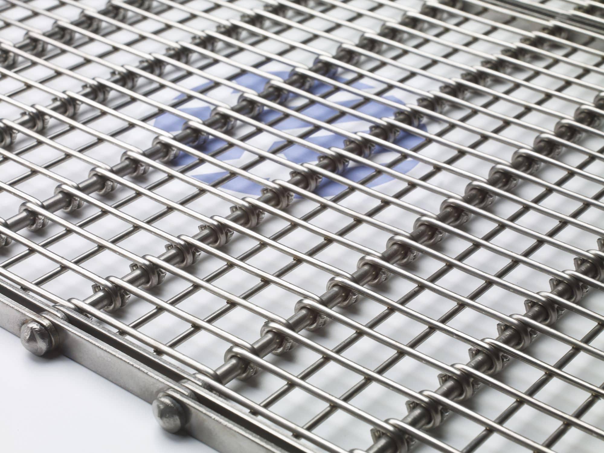 Modular conveyor belt / high-resistance / for heavy loads - Eye-Flex ...