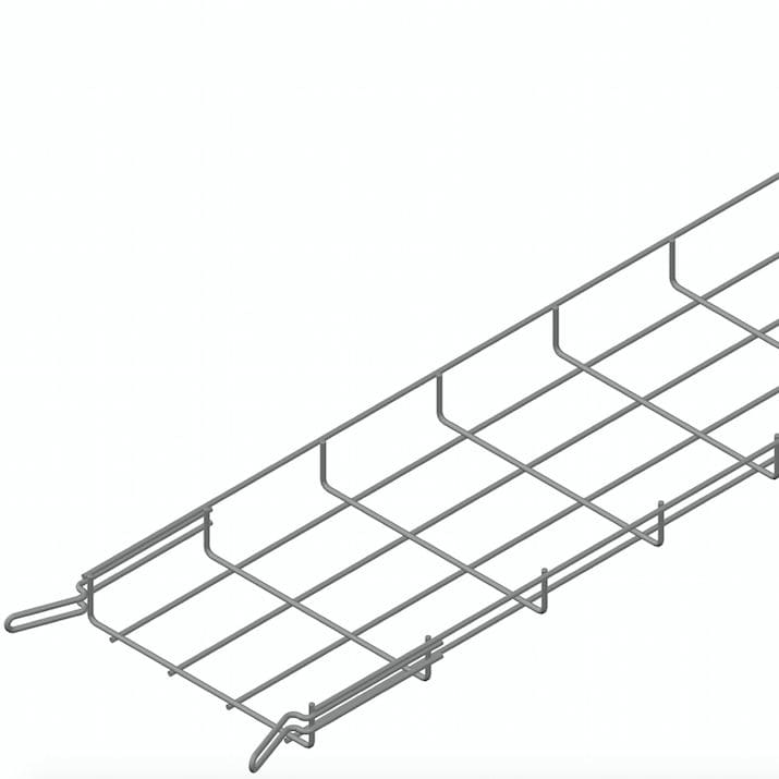 Wire basket cable tray / modular - EASYCONNECT EC30 Series ...